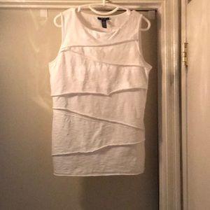 ALFANI bandage style shirt Medium